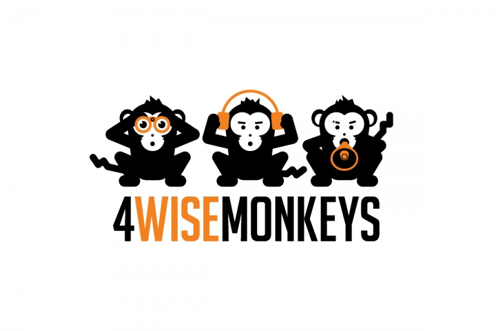 Susami 4 wise monkeys for the monkeys business cards one monkey from the logo was used for each of the founders card in case you were wondering why there are only three reheart Images